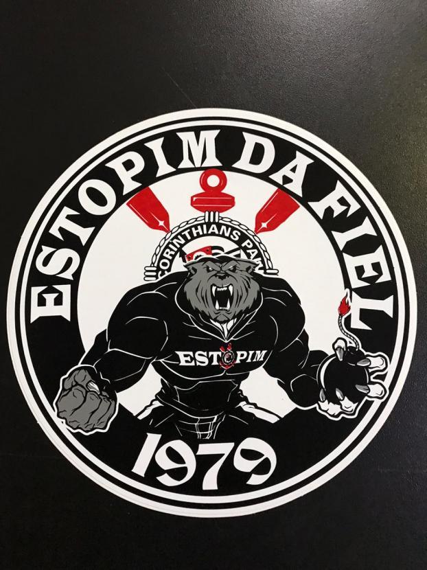 ADESIVO REDONDO ESTOPIM DA FIEL 1979